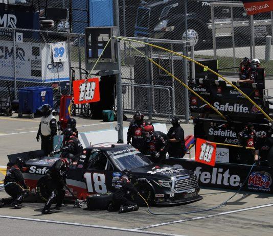 NASCAR Modifies Pit