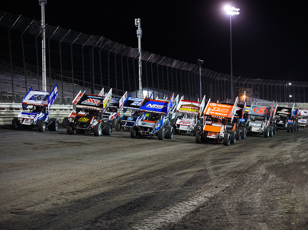 World of Outlaws at Knoxville on May 8, 2020 (Trent Gower Photo)