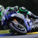 Monster Energy Attack Performance Yamaha's Cameron Beaubier was the fastest of the HONOS Superbike field on Friday at Road Atlanta. (Brian J. Nelson Photo)