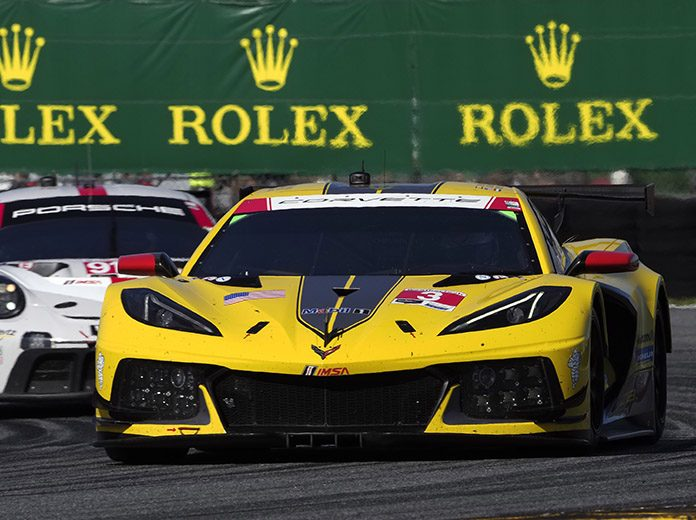 IMSA's GT Le Mans and GT Daytona divisions will race at the Charlotte Motor Speedway ROVAL on Oct. 9-10. (IMSA Photo)