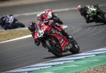 Scott Redding won his second World Superbike event in as many days Sunday at Circuito de Jerez – Angel Nieto. (Ducati Photo)