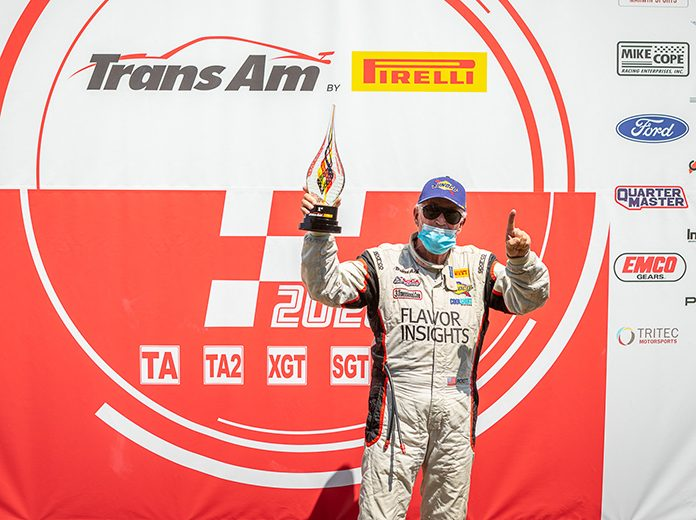 Greg Pickett was the overall winner of Trans-Am Series presented by Pirelli West Coast Championship event at Thunderhill Raceway Park.
