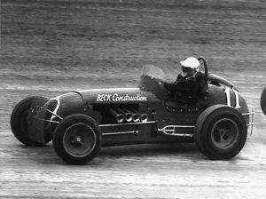Stan Bowman at Eldora Speedway in 1962. (Bob Gates Photo Collection)