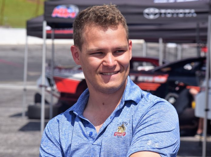 Kris Wright will run a limited schedule for GMS Racing this season. (Jacob Seelman photo)