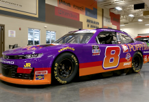 JR Motorsports and Daniel Hemric will pay tribute to the late John Andretti with a throwback scheme during the upcoming NASCAR Xfinity Series event at Darlington Raceway. (JR Motorsports Photo)