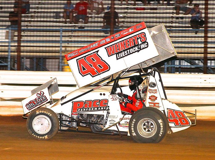 Danny Dietrich in action recently at Williams Grove Speedway. (Dan Demarco Photo)