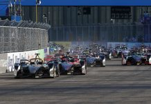 Antonio Felix da Costa leads the Formula E field Thursday in Germany. (Formula E Photo)