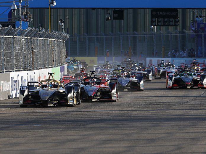 Antonio Felix da Costa leads the Formula E field Thursday in Germany. (Formula E Photo)