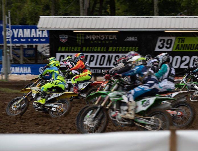The Monster Energy AMA Amateur National Motocross Championship powered on Thursday at Loretta Lynn's Ranch. (Derek Garcia photo)