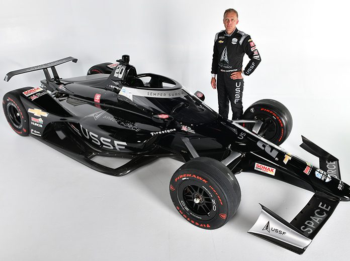 The U.S. Space Force will support Ed Carpenter during the 2020 Indianapolis 500.