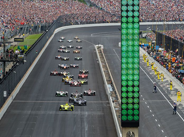 There will be no fans in the grandstands during the Indianapolis 500, but the race must go on according to NTT IndyCar Series competitors. (IndyCar Photo)