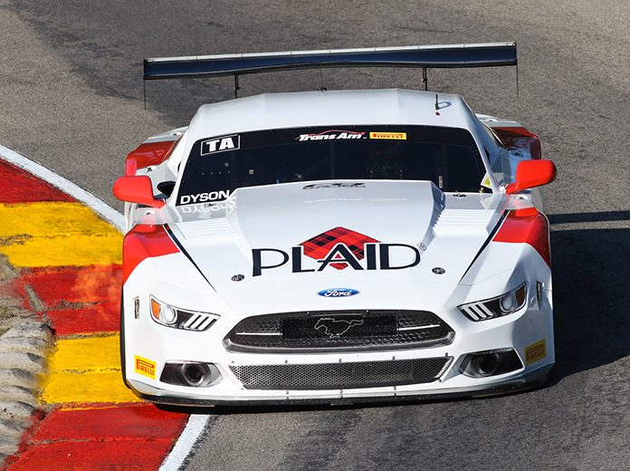 Chris Dyson led Trans-Am Series qualifying Friday at Road America.