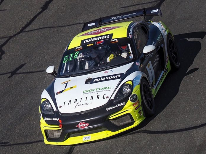 NOLASPORT claimed victories in two classes in addition to the overall victory during Friday's Pirelli GT4 America SprintX event at Sonoma Raceway.