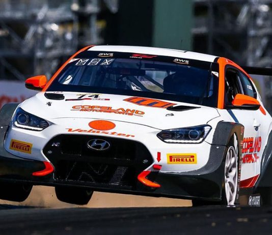 Tyler Maxson was the winner of Friday's TCR event at Sonoma Raceway.