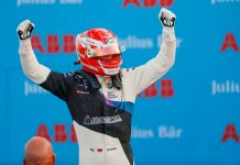 Max Guenther won Saturday's Formula E event in Berlin. (Formula E photo)
