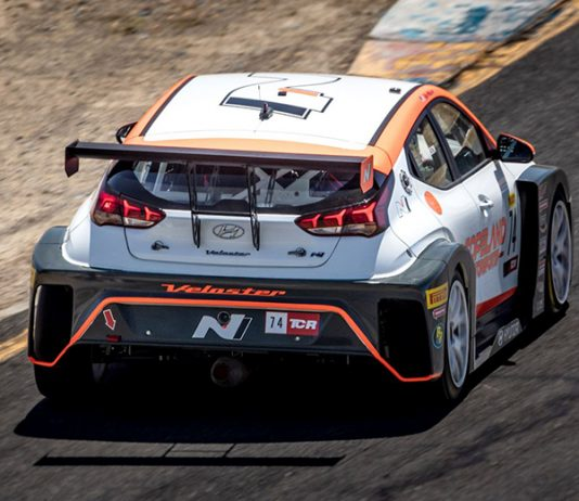 Tyler Maxson remained unbeaten in TCR competition this year on Saturday at Sonoma Raceway.