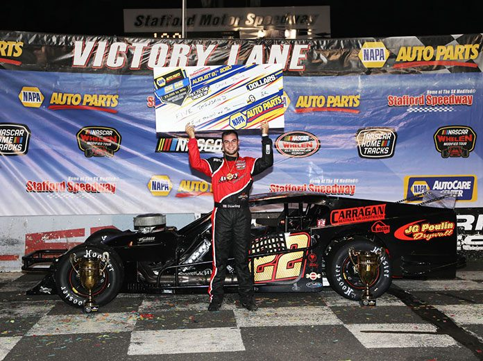 Chase Dowling pocketed $5,000 Saturday at Stafford Motor Speedway.