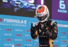 Jean-Eric Vergne won Sunday's Formula E event in Berlin. (Sam Bloxham / LAT Images Photo)