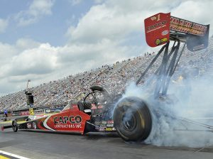 Steve Torrence was the winner in Top Fuel Sunday afternoon. (Shawn Crose Photo)