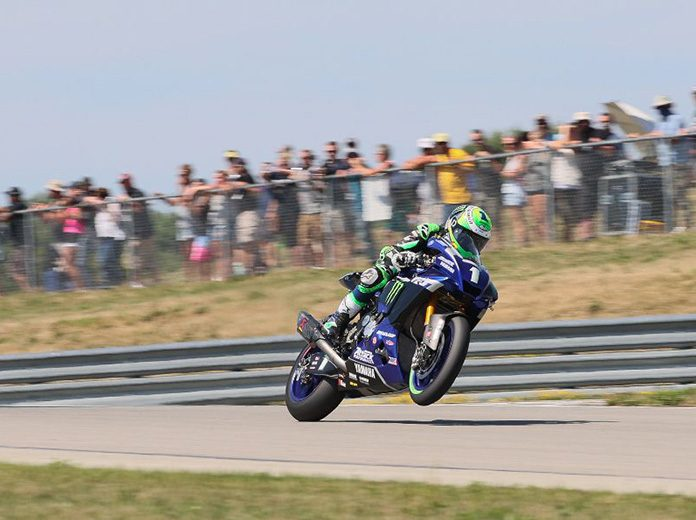 Cameron Beaubier continued his incredible MotoAmerica season on Sunday at the Pittsburgh Int'l Race Complex. (Brian J. Nelson Photo)