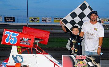 Deekan McRoberts was among the winners Sunday at Little DCRP.
