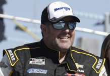 Brendan Gaughan will compete in Sunday's NASCAR Cup Series race on the Daytona Int'l Speedway road course. (HHP/Harold Hinson Photo)