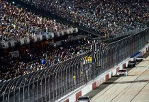 A limited number of fans will be in attendance for the upcoming Southern 500 at Darlington Raceway. (Jared C. Tilton/Getty Images Photo)