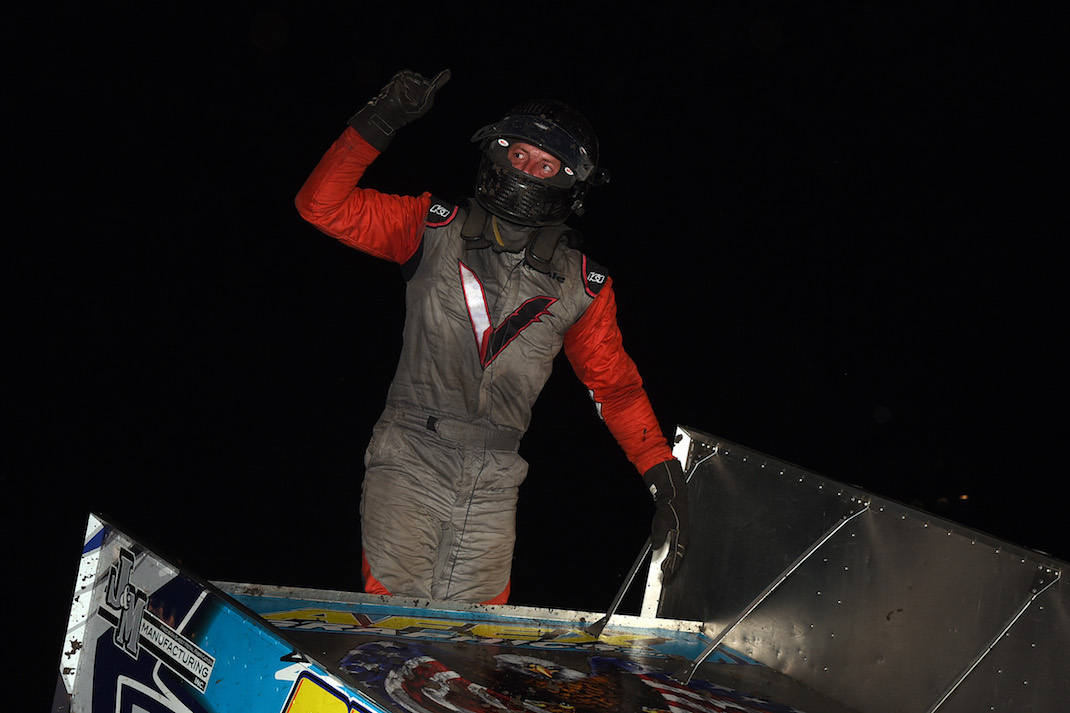 Hickle Storms Past Madsen At Lakeside