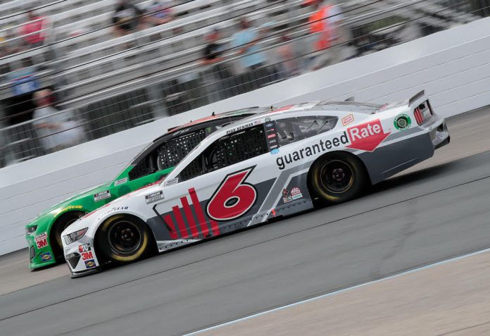 Guaranteed Rate has become a major sponsor of Ryan Newman and Roush Fenway Racing.