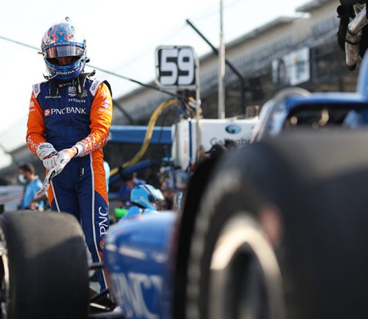 Scott Dixon paced the opening practice for the upcoming Indianapolis 500. (IndyCar Photo)