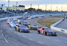 Myrtle Beach Speedway will close its doors for the finale time following Saturday's race at the historic track. (Hunter Thomas/TheFourthTurn.com Photo)