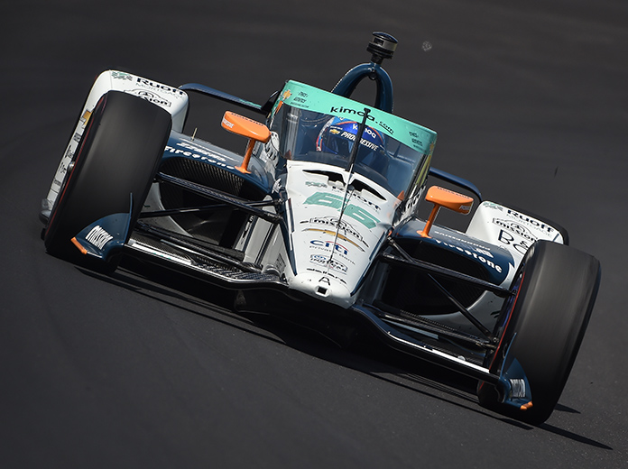 Alonso First To Crash During Indianapolis 500 Practice