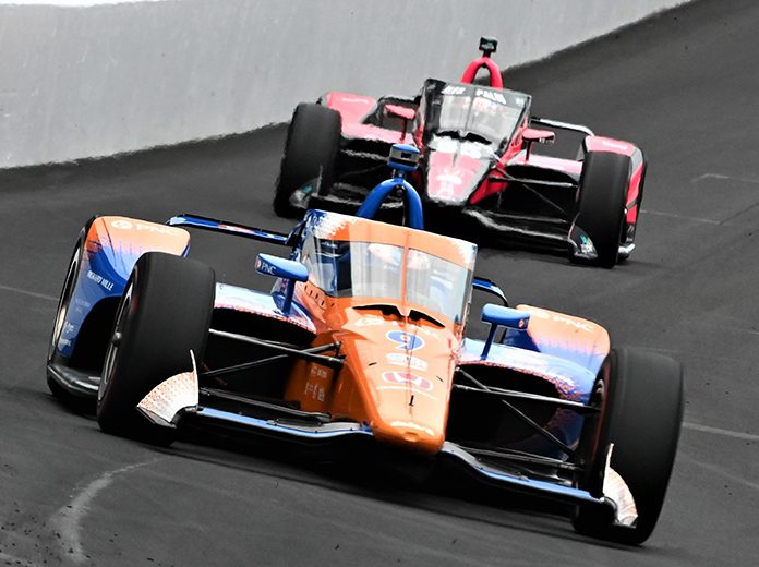 Scott Dixon was fastest on the second day of practice for the 104th Indianapolis 500 on Thursday. (Al Steinberg Photo)