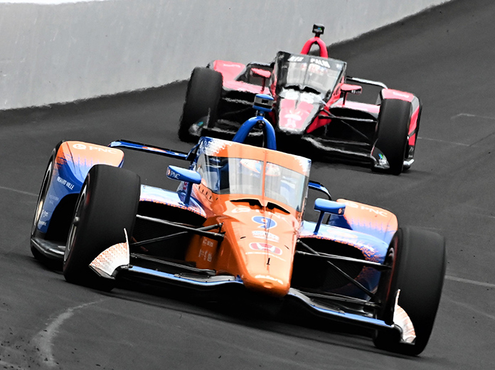 Dixon Sets The Pace On Day Two At Indy