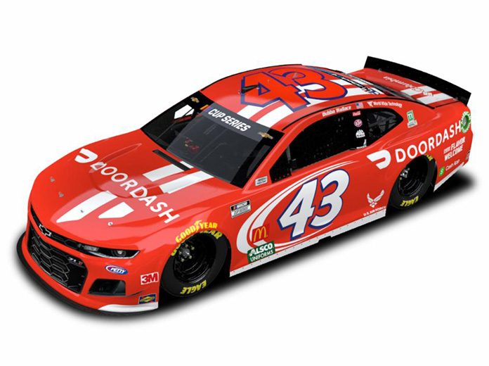DoorDash has signed a multi-year agreement to sponsor driver Bubba Wallace and Richard Petty Motorsports.