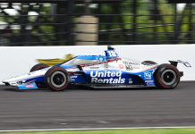 Graham Rahal will be the first driver to make a qualifying attempt for the 104th Indianapolis 500 on Saturday. (IndyCar Photo)