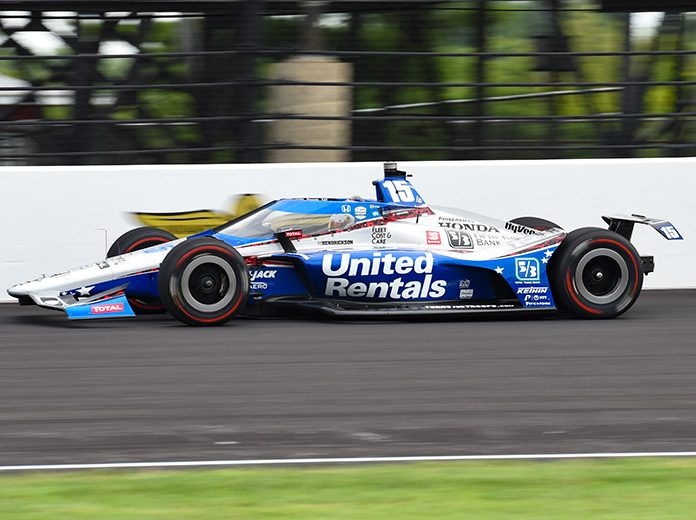 Andretti puts 2 cars at the front of Indy 500 qualifying