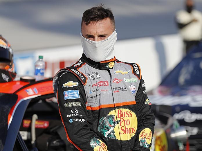 Austin Dillon has tested positive for COVID-10. (HHP/Andrew Coppley Photo)