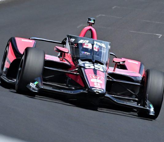 Alex Palou Indy 500 qualifying. (Al Steinberg Photo)