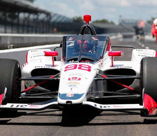 Marco Andretti has a unique connection to Parnelli Jones as they both have driven the No. 98 at Indianapolis Motor Speedway. (IndyCar Photo)