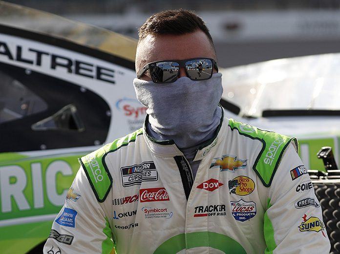 Austin Dillon has been cleared to compete this weekend at Dover Int'l Speedway. (HHP/Harold Hinson Photo)
