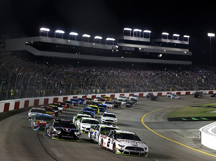 Richmond Raceway will not host fans when NASCAR returns to the venue in September. (Brian Lawdermilk/Getty Images Photo)