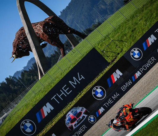 Pol Espargaro claimed his first MotoGP pole and the first for the Red Bull KTM squad on Saturday at the Red Bull Ring. (MotoGP Photo)
