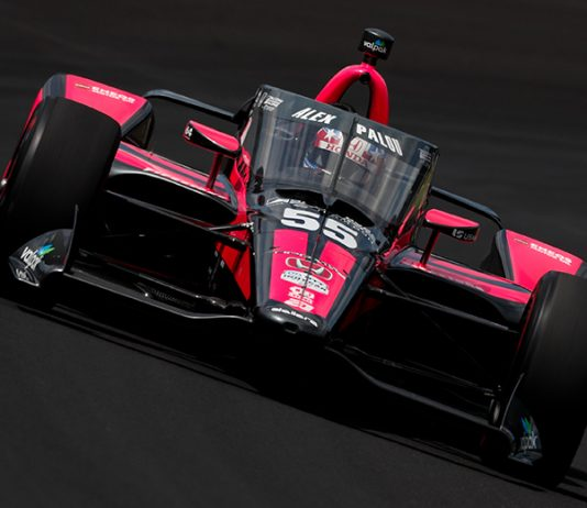 Alex Palou will have sponsorship from Guaranteed Rate during Sunday's 104th Indianapolis 500. (IndyCar Photo)