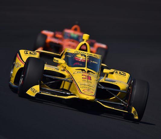 Helio Castroneves 2020 Indianapolis 500 practice. (IndyCar Photo)