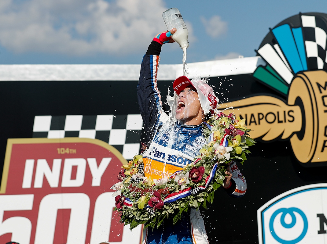Takuma Sato Wins Indy 500 For Second Time