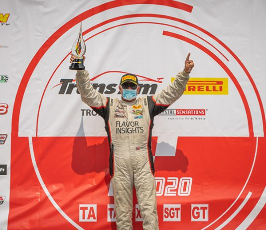 Greg Pickett dominated Sunday's Trans-Am Series presented by Pirelli West Coast Championship race at Sonoma Raceway.