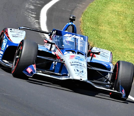 Graham Rahal earned a third-place finish to give Rahal Letterman Lanigan Racing two cars in the top-three of the Indianapolis 500. (Al Steinberg Photo)