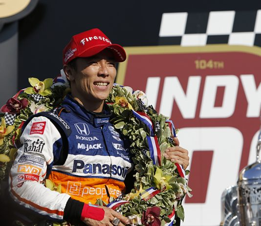 Takuma Sato banked $1,370,500 following his victory in the 104th Indianapolis 500. (IndyCar Photo)