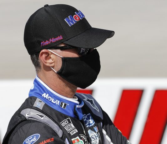 Harvick Back On Cup